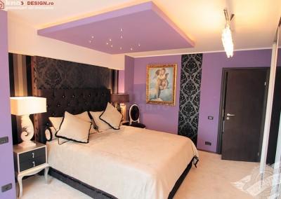 Dormitor tapet de lux