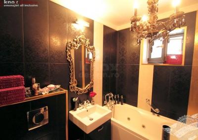Design interior baie, faianta aurita