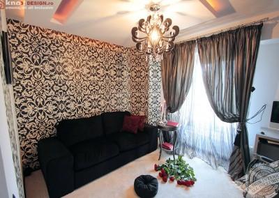 Dormitor de oaspeti amenajat glam